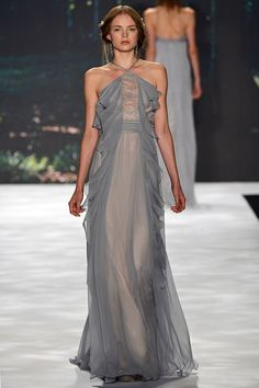 Badgley Mischka Spring 2013 Ready-to-Wear Fashion Show: Complete Collection Couture Mode, Style Couture, Couture Fashion, Runway Fashion, Fashion Show, Instyle Fashion, Beautiful Gowns, Beautiful Outfits, Vestidos Fashion
