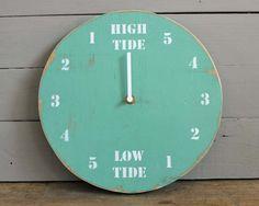 Tide Clock Aqua