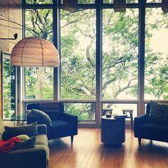 Interior.  Windows.