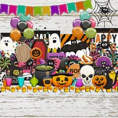 Halloween Treats Elements by HarperFinchDesigns on Etsy