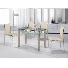 36 best Glass Dining Tables images on Pinterest | Glass tables ...