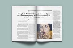 Lifestyle Universal Magazine by Kahuna Design on @creativemarket