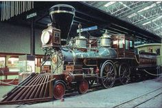 The William Crooks.  The engine all Crown Metal Products theme park trains was modeled after.
