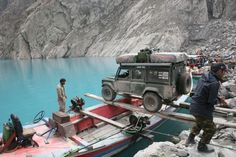 Land Rover goes everywhere