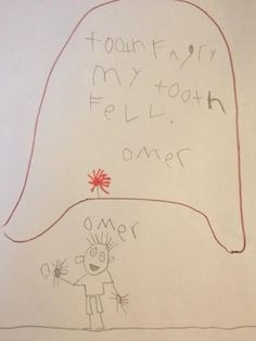 No tooth fairy will refuse this letter...