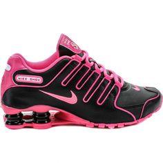 Nike Shox Nz Black And Pink Womens