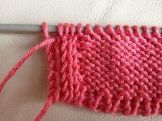 IMG maglia tubolare bordo Knitting Stitches, Knitting Designs, Drops Kid Silk, Free Crochet, Knit Crochet, Knitting Patterns, Crochet Patterns, Knit Picks, Drops Design