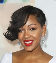 I was told while watching a movie that Meagan Good was in,  she resembles a Brat Doll...as I looked more closely. I couldn't deny it....she's beautiful. ...Uhggg couldn't even be jealous. ..lol...