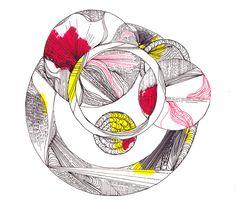 Flora Grosvenor-Stevenson Drawings