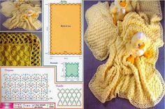 TROVATE qua e la nel WEB questi schemi, alcuni molto facili, adatti per copertine baby.                                            ...