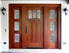 Outstanding Craftsman Front Entry Door Design