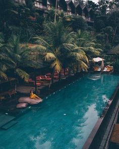Chapung Sebali Resort and Spa in Bali, Indonesia — A touch of Scandinavian modernism gives the pool suites and private plunge pools a… Best Vacations, Vacation Trips, Travel Photography Tumblr, Places To Travel, Places To Visit, Voyager Loin, Ubud, Hotels And Resorts, Adventure Travel