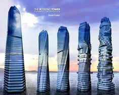 Dynamic Modern Architecture Design - The Rotating Tower