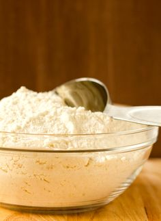 DIY: Homemade Yellow Cake Batter Mix by Brown Eyed Baker