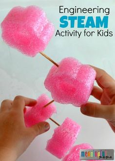 Engineering STEAM (STEM) Activity for Kids - Science, Technology, Engineering, Art, and Math