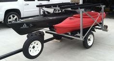 1000 images about utility trailer mods on pinterest for Harbor freight fishing cart
