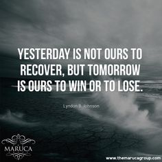 Yesterday is not ours to recover , but tommorrow is ours to win or lose. (Lyndon B Johnson ) For Professionally managed villas around the world ♥-The Maruca Group For Details: please contact us @themarucagroup Reservations@themarucagroup.com www.themarucagroup.com +1305-218-5216 #TheMarucagroup #Hamptons #Palmsprings #Southbeach #Bahamas #Miami #Ibiza #possible #impossible # #motivation #conditions #beyourowngoals #beyondlimits #goals #success #faith #faithinyourself #takeaction #decison…