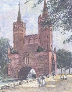 Stargard Mühlentor Poland, German, Painting, Europe, History, Pictures, Germany, Deutsch, German Language