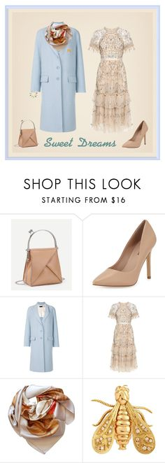 """Sweet Dreams"" by sharonvandoesburg ❤ liked on Polyvore featuring Neiman Marcus, Joseph, Needle & Thread, Gucci, Chaumet and Irene Neuwirth"