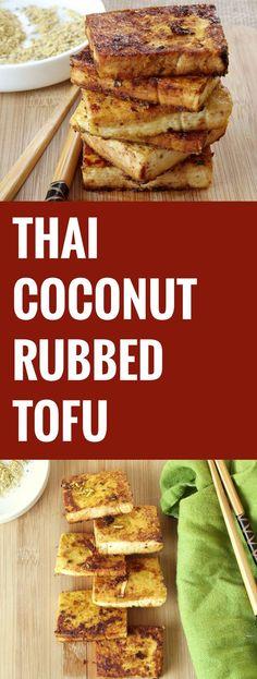 Thai Coconut Rubbed Tofu