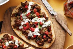 These Indian-spiced pizzas are perfect for a night on the couch.