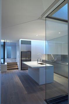 French Grey American Oak timber floors by Royal Oak Floors.  b.e. architecture  www.royaloakfloors.com.au