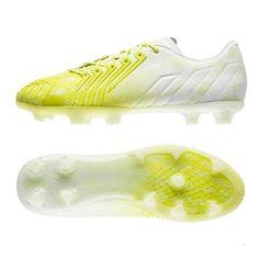 Adidas Predator Instinct Hunting Pack FG Soccer Cleats (White Bahia Glow).  Get e9da7d4408fbe