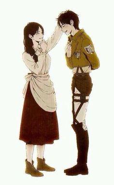 Eren Jaeger❤️ Attack on titan❤️ Otaku Anime, M Anime, Fanarts Anime, Anime Kawaii, Anime Art, Anime Boys, Attack On Titan Comic, Attack On Titan Season, Attack On Titan Fanart