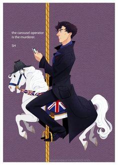 The carousel operator is the murderer. SH. – Sherlock Holmes