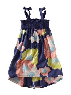 Tea Collection Two Tie Surf Lily Dress $49