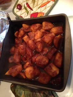 Sweet potatoes with cinnamon
