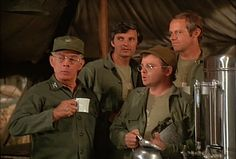 M*A*S*H: Season 5, Episode 2 Margaret's Engagement (28 Sep. 1976) mash, 4077, Harry Morgan ., Colonel Sherman T. Potter, Gary Burghoff , Corporal Walter Eugene O'Reilly, Mike Farrell , Captain B.J. Hunnicut, Hawkeye Pierce , Captain Benjamin Franklin Pierce, Alan Alda