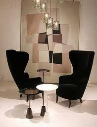 Home I Interior I Furniture I Wingback Armchair By Tom Dixon - Tom dixon wingback chair
