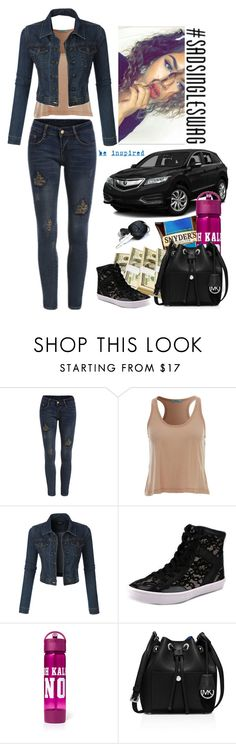 """Sad & Single"" by cloudybooks ❤ liked on Polyvore featuring LE3NO, Rebecca Minkoff, MICHAEL Michael Kors, Underscore, women's clothing, women's fashion, women, female, woman and misses"
