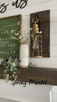 Family Wall Decor, Family Room Decorating, Home Decor Bedroom, Diy Home Decor, Rustic Decor, Farmhouse Decor, Mantles, Accent Decor, Homestead