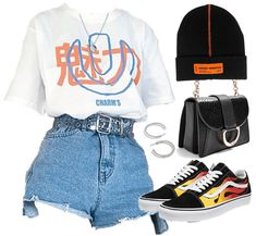 Baddie Outfits Casual, Cute Swag Outfits, Cute Comfy Outfits, Stylish Outfits, Teen Fashion Outfits, Mode Outfits, Retro Outfits, Girl Outfits, Emo Fashion