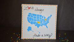 Love Always Find A Way - DIY Canvas Art