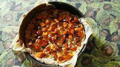 Quiche con zucca, radicchio e patate