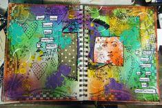 Art Journaling - neat! Too bad I'm too boring :-P