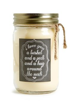 Primitives by Kathy 'I Love You' Mason Jar Candle available at #Nordstrom