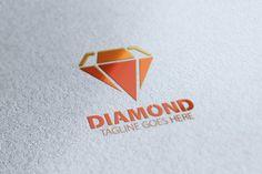 Diamond Logo by eSSeGraphic on @creativemarket