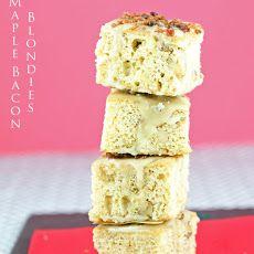 Maple Bacon Blondies Recipe