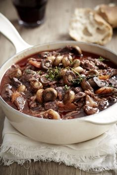 Beef bourguignon, soup recipes, shrimp recipes, cooking recipes, gourmet co Traditional French Recipes, Classic French Dishes, French Food, Seafood Recipes, Beef Recipes, Soup Recipes, Dinner Recipes, Cooking Recipes, Gourmet Cooking
