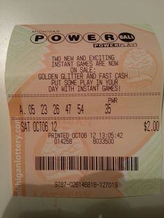 Winning Lottery Numbers, Fast Cash, News Games, Wordpress, Personalized Items, Day, Briefs