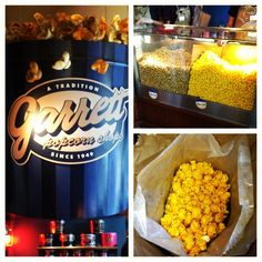 Garrett's popcorn! Chicago....simply the best popcorn ever  its in Singapore to......yummo