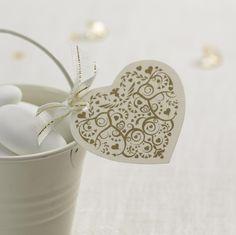 Wedding Favour Tags - Vintage Romance