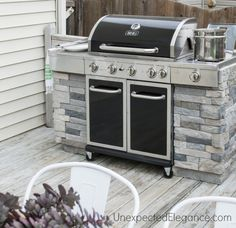 Create your own built in BBQ outdoor kitchen