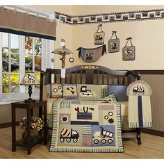 Constructor 13-piece Crib Bedding Set - Overstock Shopping - Big Discounts on Geenny Bedding Sets
