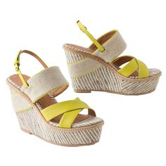 Slice Of Shoes | The Zoe Report: Anthropologie Felicie Wedges