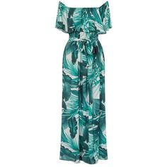 *Girls on Film Multi Coloured Palm Printed Maxi Dress ($75) ❤ liked on Polyvore featuring dresses, multi color, maxi dress, multi colored maxi dresses, palm leaf print dress, colorful dresses and multi-color dresses